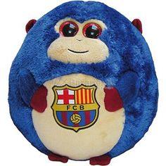 Peluche Futbol Club Barcelona Monkey Medium - Bazartextil.com