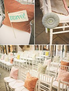 Cute ceremony seating ideas
