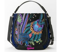Tasche mit blauem Muster | Desigual.com 11