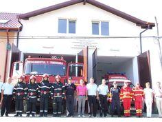Pompierii profesionisati Garda de interventie Pischia