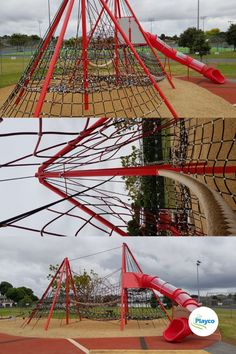 Amazing new rope play in Pukekohe's Rosa Birch Park Cubby Houses, Cubbies, Childcare, Playground, New Zealand, Birch, Sustainability, Centre, Fair Grounds