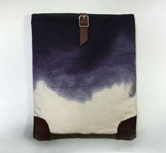 Stormy Weather iPad Case by Mc Lovebuddy on sale at uncovet. >> Love this case! Waxed Canvas, Canvas Leather, Leather Bag, My Bags, Purses And Bags, Hand Wax, New Ipad, Vintage Bags, Ipad Case
