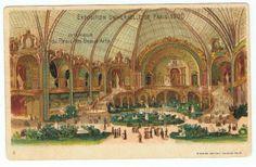 Paris France Exposition Universelle 1900 Grafica Palais DES Beaux Arts Rarità | eBay