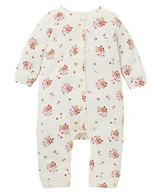 Knitted Floral All In One - all in ones - Mothercare
