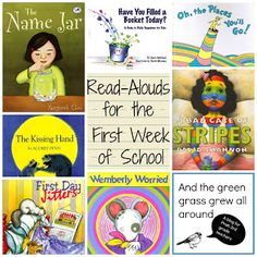 Awesome books for the first week of school