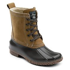 GH Bass  Co Womens Daisy Rain Boot TanChocolate 9 M US >>> Learn more by visiting the image link.