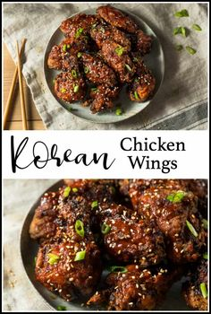 Frugal Food Items - How To Prepare Dinner And Luxuriate In Delightful Meals Without Having Shelling Out A Fortune This Recipe For Korean Chicken Wings Is Sweet And Spicy And Sooo Delicious They're Baked Until They're As Crispy As If You'd Fried Them, Then Healthy Chicken Recipes, Asian Recipes, Beef Recipes, Cooking Recipes, Shrimp Recipes, Potato Recipes, Turkey Recipes, Ramen Recipes, Broccoli Recipes