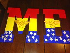 Wonder Woman Party- I made this!