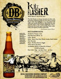 Devils Backbone Brewing Company - Kilt Flasher Wee Heavy Scotch Ale