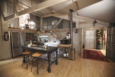"""Castle"": Kate Beckett's kitchen"