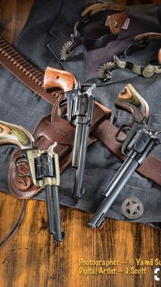 "Heritage Manufacturing Cowboy Guns -- 2013 Issue of ""Carry On"" Magazine/Catalog published by Taurus Weapons Guns, Guns And Ammo, O Cowboy, Cowboy Gear, Single Action Revolvers, Cowboy Action Shooting, Revolver Pistol, Lever Action Rifles, Gun Holster"