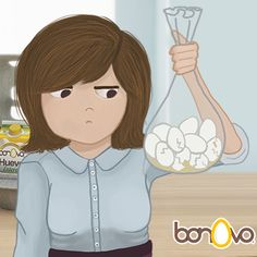 Adiós a los huevos rotos.  #Bonovo #SaldelCascarón #Huevos #Cocina #Food #Comida #Delicioso