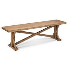 "Harvester 62"" Dining Bench - Rustic Brown - Beekman 1802 FarmHouse : Target"