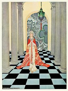 illustrator from MO, early 20th century.  Illustrated 3 fairy tale books i now want to find!!