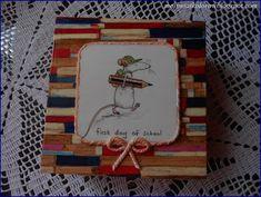 Mój świat kolorów...: Herbaciarka jako podziękowanie...