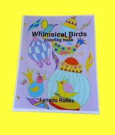 Whimsical Birds Coloring Book