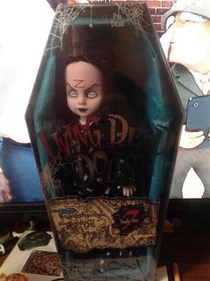 Living dead doll sloth new in box still plastic wrapped  | eBay!