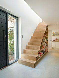meubles sous escalier, aménagement sous escalier, meuble sous escalier,rangement