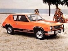AMC GREMLIN.  Had one of these growing up.  Too bad we weren't on the beach!