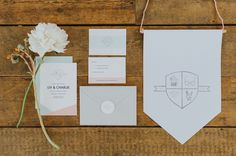 Shape up your wedding stationery suite with geometric wedding invitations. Click through for inspiration for your wedding paper goods. Unique Invitations, Modern Wedding Invitations, Invitation Set, Wedding Stationery, Invites, Preppy Wedding Inspiration, Geometric Wedding, Watercolor Invitations, Wedding Paper