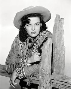 Portrait of Jane Russell for The Paleface directed by Norman Z McLeod, 1948 Jane Russell, Julie Adams, Cow Girl, Westerns, Vintage Hollywood, Classic Hollywood, Hollywood Glamour, Hollywood Actresses, Actors & Actresses