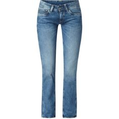 Pepe Jeans Damen Stone Washed Relaxed Fit Jeans - bei MYBESTBRANDS... ($120) ❤ liked on Polyvore featuring jeans, pepe jeans london, stonewash jeans, blue jeans, relaxed jeans and stonewash blue jeans