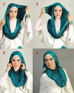 Looking for ideas on how to wear hijab elegantly? Or just a Simple Hijab Tutorial? Or perhaps you want tips to style hijab for a beautiful look? Well, we understand that Hijab fashion is at its peak these days. Such questions are on every girl's mind. Simple Hijab Tutorial, Hijab Style Tutorial, Scarf Tutorial, How To Fold Scarf, Hijab Mode, How To Wear Hijab, Photo Print, Modern Hijab, Muslim Hijab