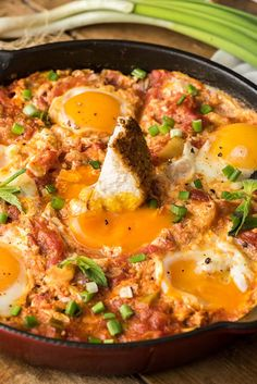 Turkish sytle egg dish menemen is an amazingly tasty breakfast, lunch and dinner recipe. Simple, quick and oh so yummy!