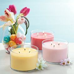 Daffodil, Cherry Blossom or Apple Blossom? Whichever PartyLite fragrance you choose, your home will be full of the happiness that Spring brings!