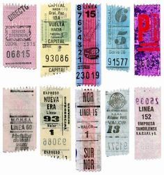 BusARG.ar  Bus Tickets - Primer Museo Virtual del Transporte Argentino