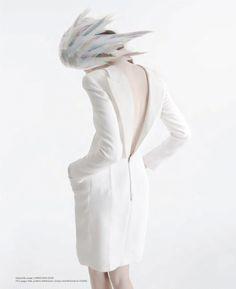 :: Christian Dior, beautiful back detail :