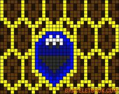 Alpha Friendship Bracelet Pattern #8073 - BraceletBook.com