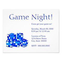 Game night invitation template printable wanna one images game night invitation template printable for kids stopboris Choice Image