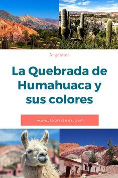 conoce la Quebrada de Humahuaca y descubre sus cerros de colores. El noroeste argentino te fascinará y sorprenderá.  #Jujuy #NOA #Argentina Cities, Travel Destinations, Places To Visit, Around The Worlds, Inspiration, Blog, Traveling, Buenos Aires, Argentina Tourism