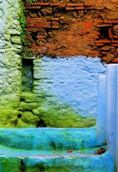 Chefchaouen, Morocco by Kempton