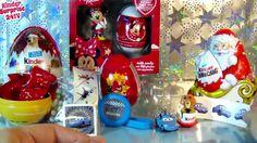 10 Surprise Eggs, Kinder Surprise Maxi Minnie Mouse Angry birds Disney P...