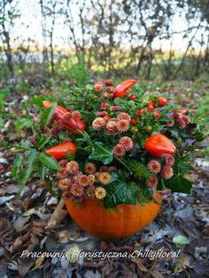 Pracownia Florystyczna Chillyfloral Pumpkin Decorations, Fruit, Food, Essen, Meals, Yemek, Eten, Pumpkin Decorating