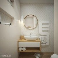 MALÉ KÚPEĽNE - Riešenia & Dizajn / BENEVA Mirror, Bathroom, Furniture, Home Decor, Mirrors, Bathrooms, Home Furnishings, Interior Design, Bathing