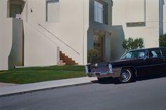 S.F. Cadillac  by Robert Bechtle