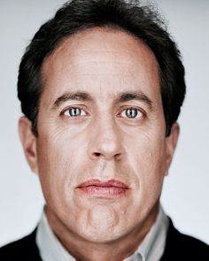 Jerry Seinfeld by Martin Schoeller Martin Schoeller, Jerry Seinfeld, Annie Leibovitz, Cinema, Celebrity Portraits, Interesting Faces, Celebrity Hairstyles, Famous Faces, Funny People
