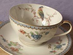 antique Haviland Limoges France tea cup and by ShoponSherman,