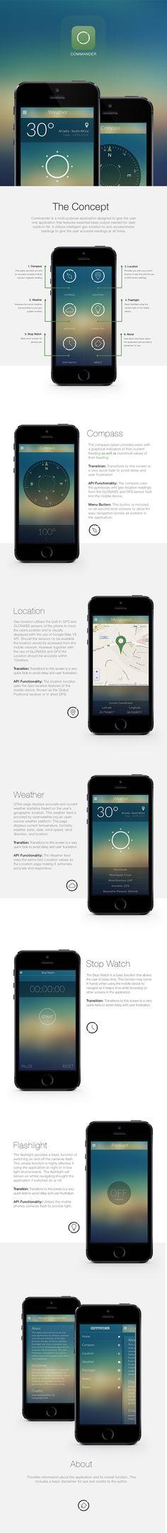 Commander App #commander #app #mobile #design #ui #ux