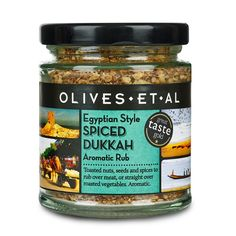 Egyptian Dukkah · Buy Online · Olives Et Al Amazon Auto, Snack Recipes, Healthy Recipes, Simple Recipes, Healthy Meals, Wholesale Food, Meat Rubs, Roasted Almonds, Larder
