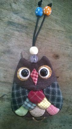 Owl key cover