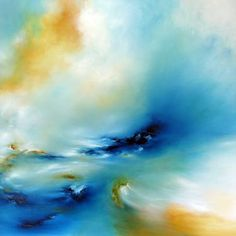 "Saatchi Art Artist Alison Johnson; Painting, ""Beyond The Turbulence SOLD"" #art"