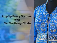 Amp Up Every Occasion With #SiviTheDesignStudio. Address: Next to KFC, opp Prahladnagar Garden, Ahmedabad. Contact: 9909034695 Time: 10 AM to 8 PM #Fashion #Clothing #LehngaCholi #Saree #Suits #CityShorAhmedabad
