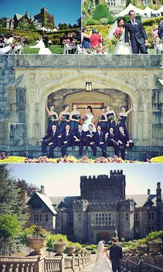 Explore the history of Hatley Castle, A National Historic Site located in Victoria BC on the Royal Roads University Campus. Wedding Locations, Wedding Venues, Wedding Decor, Wedding Ideas, Vancouver Wedding Venue, Hatley Castle, Dream Wedding, Wedding Things, Perfect Wedding