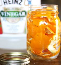 The best DIY projects & DIY ideas and tutorials: sewing, paper craft, DIY. Diy Crafts Ideas A natural DIY orange cleaner recipe - make your own cleaner for pennies per bottle! Homemade Cleaning Products, Cleaning Recipes, Natural Cleaning Products, Cleaning Hacks, Natural Products, Cleaning Supplies, Natural Cleaning Solutions, Household Products, Household Tips