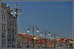 le luci in #Trieste #Italia