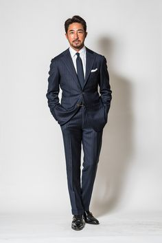 FInally a fella whose pants are the right length for a suit. And I love the double monks!